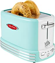 Nostalgia RTOS200AQ New and Improved Retro Wide 2-Slice Toaster Perfect For Bread,..