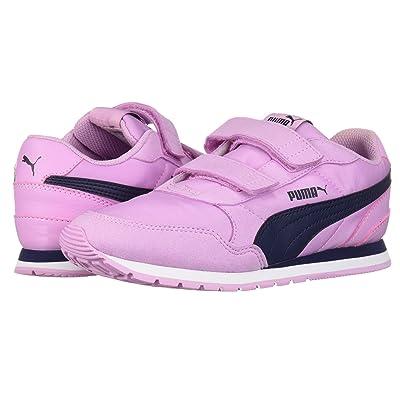 Puma Kids ST Runner v2 NL V (Little Kid) (Orchid/Peacoat) Girls Shoes