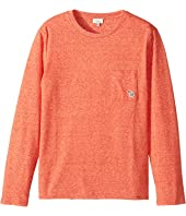 Paul Smith Junior - Long Sleeves Solid Tee Shirt (Big Kids)