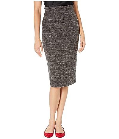Unique Vintage Micheline Pitt for Unique Vintage Tweed Suit Skirt (Grey) Women