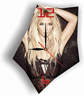 Original Handmade Wall Clock Britney Spears 11.8 Get Unique décor for Home or Office – Best Gift Ideas for Kids, Friends, Parents and Your Soul Mates
