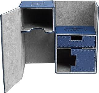 Ultimate Guard Twin FlipnTray Deck Case 160+ Standard Size XenoSkin Blue Card Game