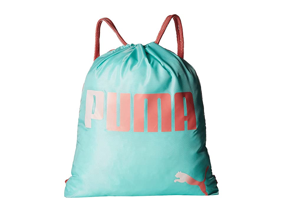 PUMA Evercat Advantage Reversible Carrysack (Little Kids/Big Kids) (Blue/Pink) Day Pack Bags