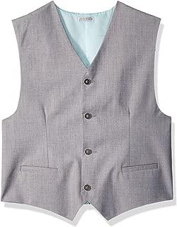 Calvin Klein Boys' Linen Suit Vest