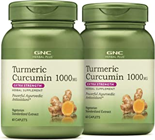 GNC Herbal Plus GNC Herbal Plus Turmeric Curcumin 1000mg Extra Strength - Twin Pack