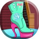 Design shoes for princess Elsa