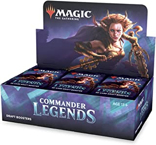 Magic: The Gathering Commander Legends Draft Booster Box | 24 Booster Packs (480 Cards) |..