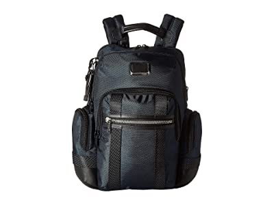 Tumi Alpha Bravo Nathan Backpack (Navy) Backpack Bags