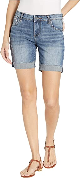 Catherine Boyfriend Shorts in Understand w/ Medium Base Wash
