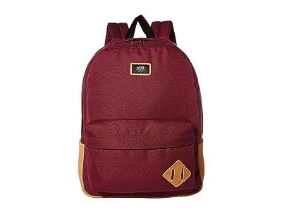 Vans Old Skool III Backpack (Prune) Backpack Bags