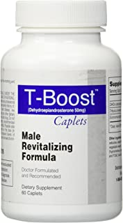 Doctor-Formulated T-Boost (Testosterone Booster) The Most Powerful, Safe and Effective Way to Reignite Your Body's Own Natural Testosterone Production
