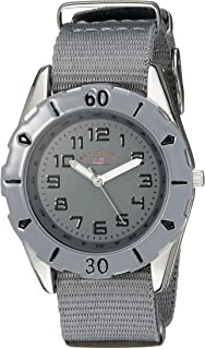 U.S. Polo Assn. Kids' USB75031 Analog Display Analog Quartz Grey Watch