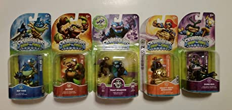 $44 » Skylanders Swap Force Action Figures (5) : Trap Shadow , Rip Tide , Dune Bug , Scorp and Heavy Duty Sprocket