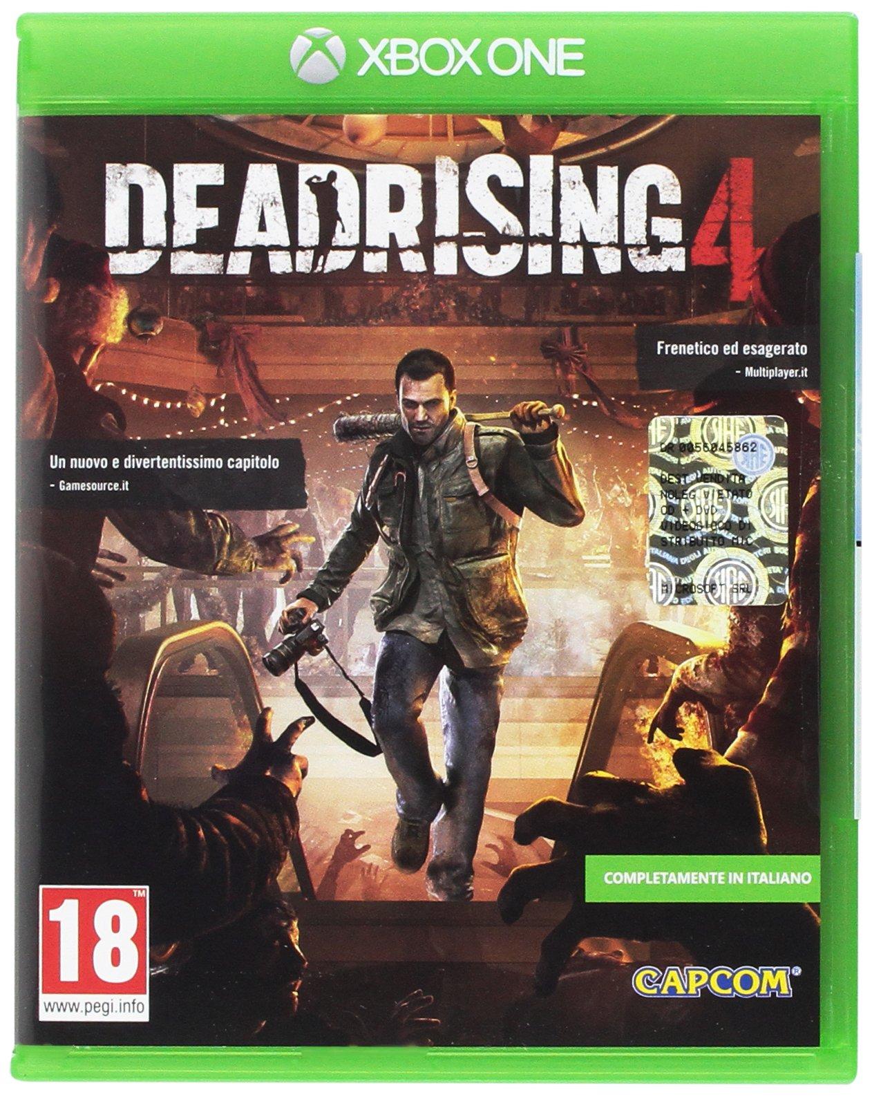 Microsoft Dead Rising 4, Xbox One Básico Xbox One Inglés vídeo - Juego (Xbox One, Xbox One, Acción, Modo multijugador, M (Maduro)): Amazon.es: Videojuegos