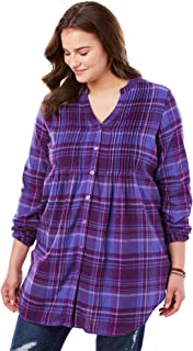 Best pintuck flannel shirt Reviews