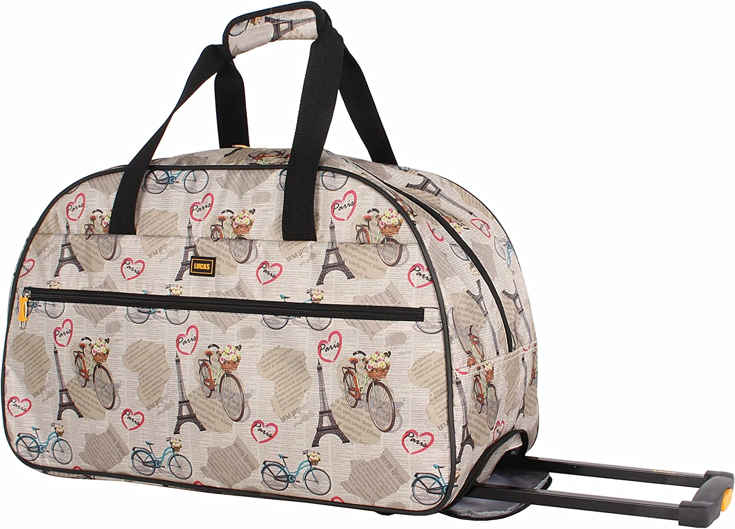 Lucas Designer Carry On Luggage - Lightweight Factory outlet shopping Pattern Collection