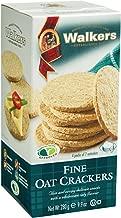 Walkers Shortbread Fine Oat Crackers, 9.9 Ounce (Pack of 6) Traditional Oatcake Crackers