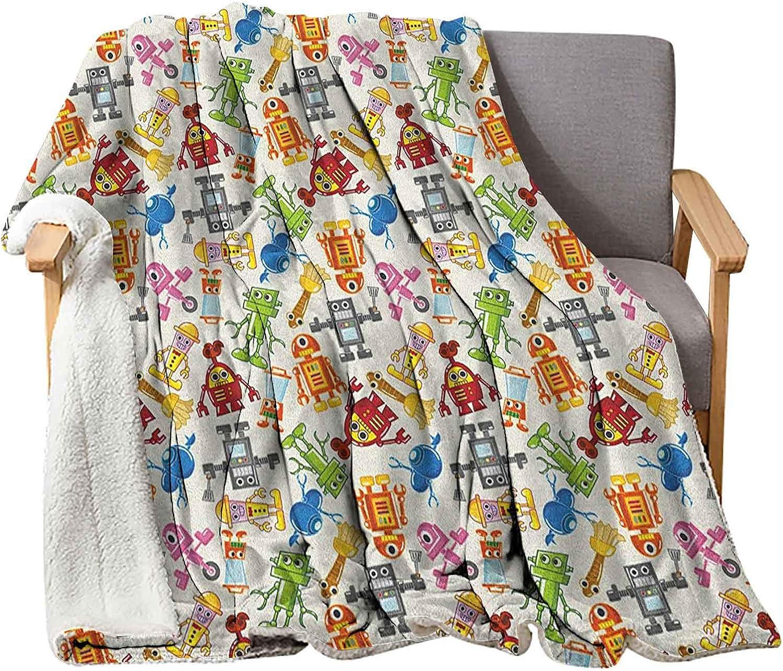 Interestlee Kids Large-scale sale Farmhouse Throw Blanket 80