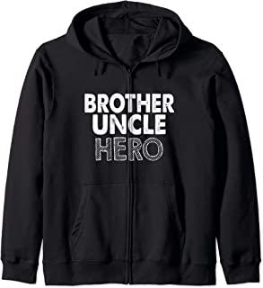 Uncle Funny Gift - Brother Uncle Hero Sweat à Capuche