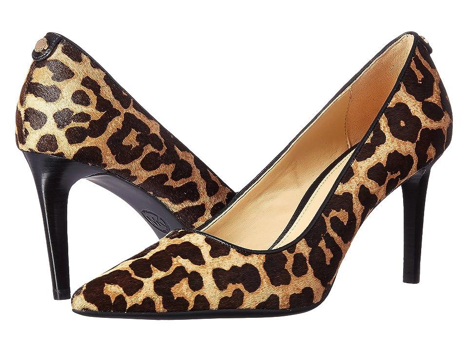 MICHAEL Michael Kors Dorothy Flex Pump (Natural/Black Cheetah Haircalf) Women