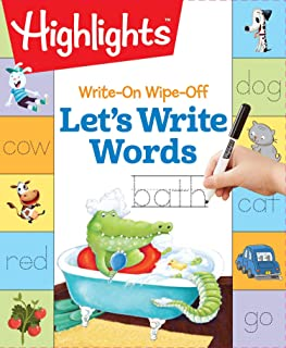 Write-On Wipe-Off Let's Write Words (Highlights™  Write-On Wipe-Off Fun to Learn Activity Books)