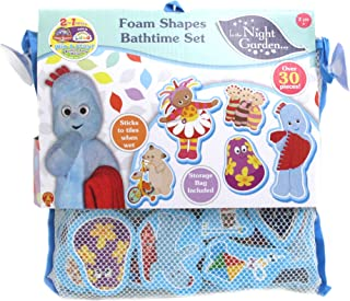 In the Night Garden 1684 30 Foam Pieces Featuring Key Characters Including Igglepiggle, Upsy Daisy, Makka Pakka & More, Ba...