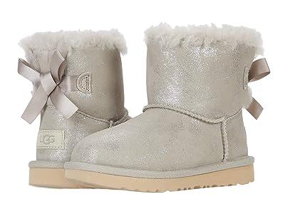 UGG Kids Mini Bailey Bow II Shimmer (Toddler/Little Kid) (Goat) Girls Shoes