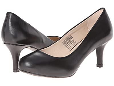 Rockport Seven to 7 Low Pump (Black Smooth) High Heels