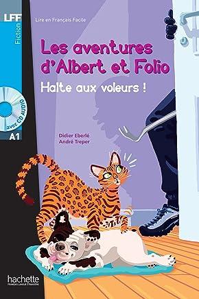 Albert Et Folio: Halte Aux Voleurs ! + CD Audio MP3: 2