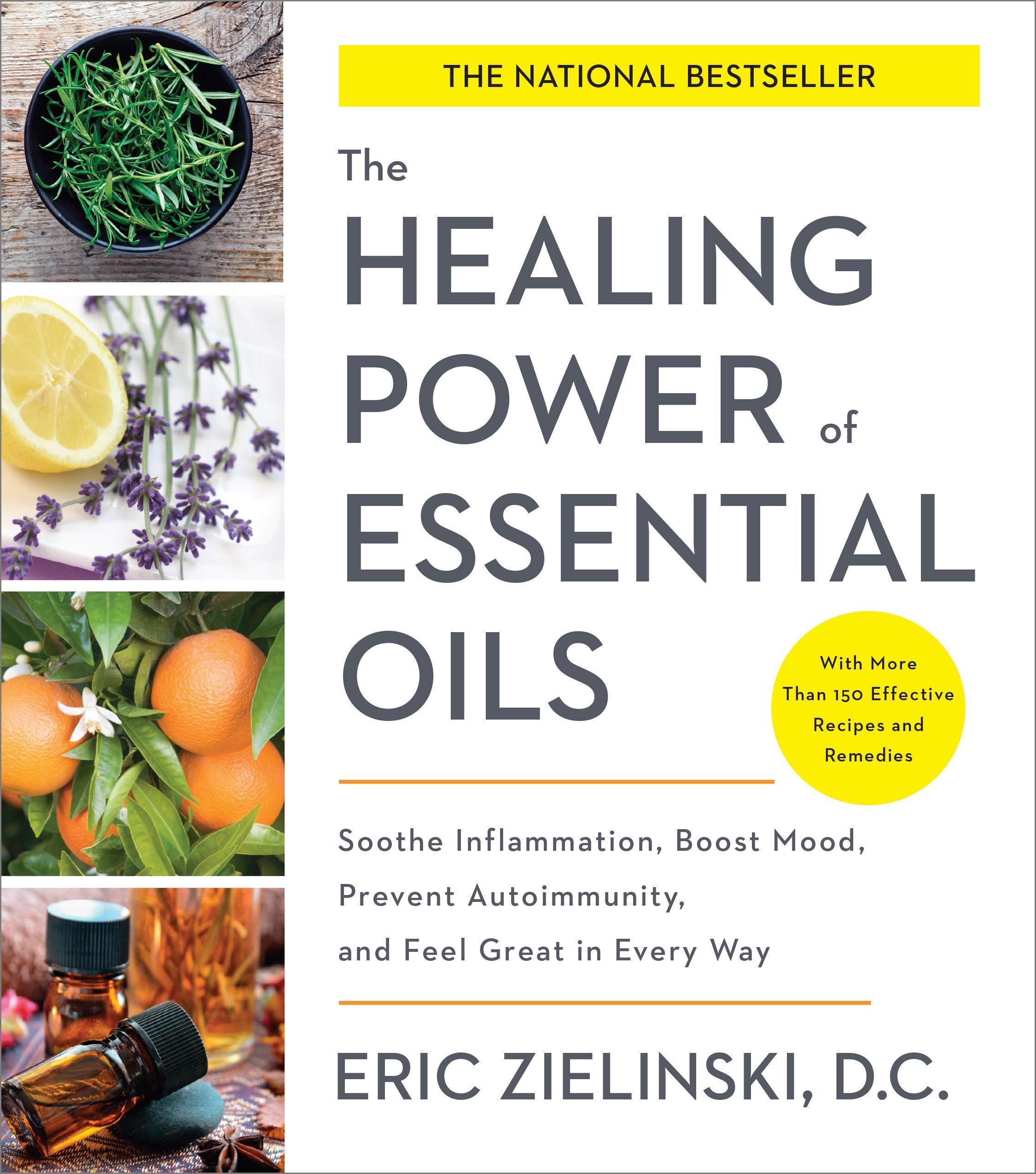Healing Power Essential Oils Inflammation
