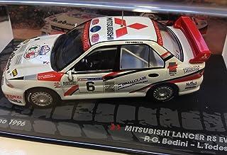 Générique Mitsubishi Lancer RS EVO III- Rally San Marino 1996 - BEDINI - IXO 1/43