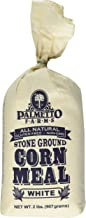 Palmetto Farms White Corn Meal Flour - Stone Ground - Non-GMO - Naturally Gluten Free, Produced in a Wheat Free Facility