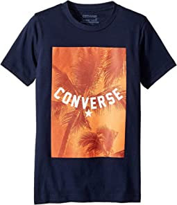 Converse Palm Tree Vibes Tee (Big Kids)