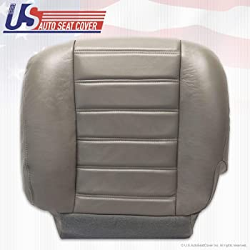 Black Hummer H2 2003-2007 Driver Bottom Replacement Leather Seat Cover