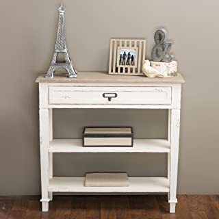 Best distressed wood foyer table Reviews