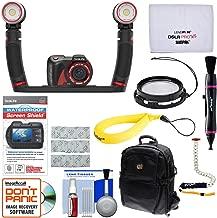 SeaLife Micro 2.0 Pro 4000 32GB Underwater Digital Camera with 2 Sea Dragon LED Lights + 10x Close Up Lens + Screen Shield + Backpack + Monopod Kit