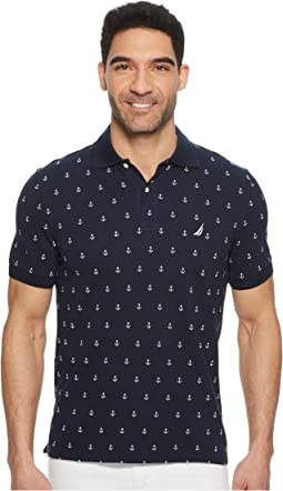 Nautica - Short Sleeve Printed Deck Polo
