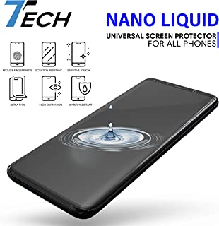 7TECH-Nano Liquid Screen Protector, with Scratch Resistant 9H Hardness for All Smartphones, Tablets, Watches Glasses, Nano Coating-for iPhone 6 6s 7 7 Plus 8 X Xs Xr, Max, 11(for up to 3 Devices)