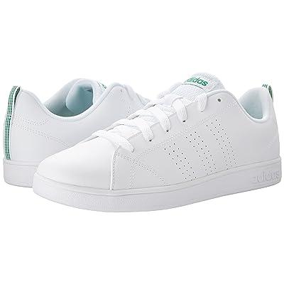 adidas Kids Advantage Clean (Little Kid/Big Kid) (White) Kids Shoes