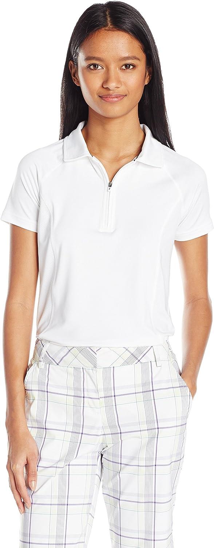 Skechers Womens Marker Zip Polo Shirt