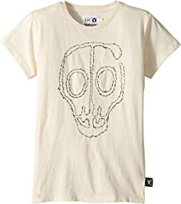 Nununu - Embroidered Skull Mask T-Shirt (Little Kids/Big Kids)