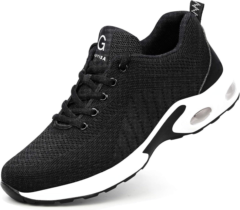 Gosuban Ultra-Cheap Deals Rapid rise Steel Toe Shoes Women Safety Air Cushion Men Lightweight