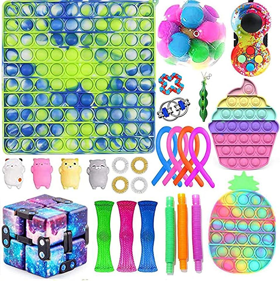 Fidget Toy Pop It 300mm Lager Push Große Größe Zappeln Sensorisches Spielzeug Autismus Stressabbau Spielzeug Pop Pop Bubble Fidget Sensory Toys