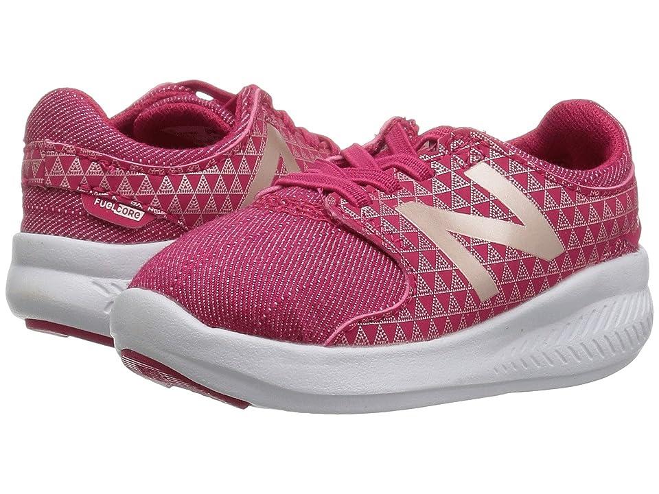 New Balance Kids KACSTv3I (Infant/Toddler) (Pink/Metallic) Girls Shoes