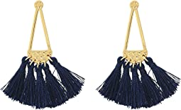 Rebecca Minkoff - Geo Tassel Chandeliers Earrings
