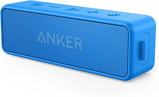 [Upgraded] Anker Soundcore 2 Portable Bluetooth Speaker with 12W Stereo Sound, Bluetooth...