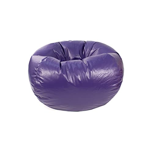 Gold Medal Bean Bags 30010546817 Medium Leather Look Beanbag 4f04b26e0b3e0