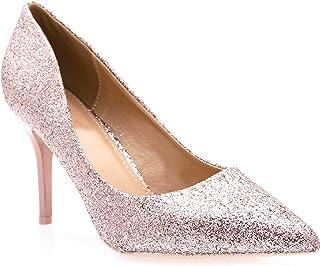 aac1970ad37c Fashion Shoes-Escarpins Femmes Talon Haut Sexy-Chaussures Anguille Talon  Fin 9cm-Vernis