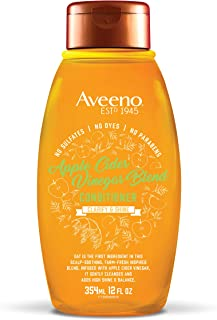 Aveeno Scalp Soothing Apple Cider Vinegar Blend Conditioner, 12 Ounce