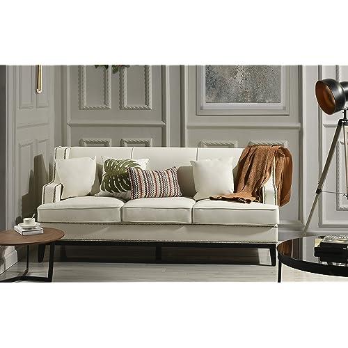 Superb Nailhead Sofa Amazon Com Theyellowbook Wood Chair Design Ideas Theyellowbookinfo
